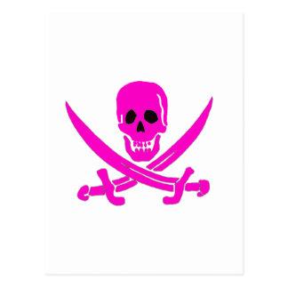 Jack-Rackham-Pink Postcard