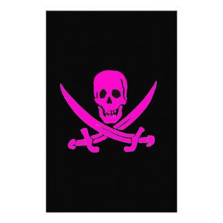 Jack-Rackham-Pink Stationery
