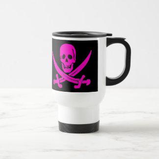 Jack-Rackham-Pink Travel Mug