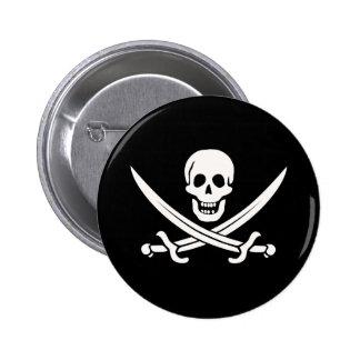 Jack Rackham Pirate Button