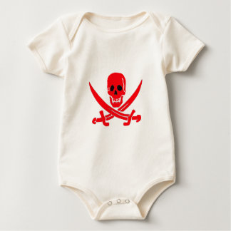 Jack Rackham- Red Baby Bodysuit