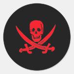Jack Rackham- Red Sticker