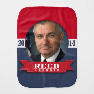 JACK REED CAMPAIGN BABY BURP CLOTH