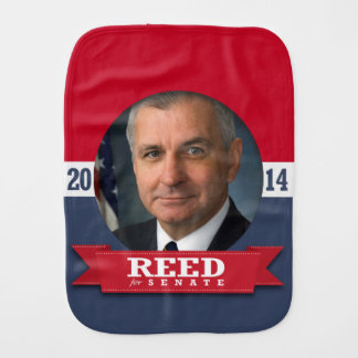 JACK REED CAMPAIGN BABY BURP CLOTHS