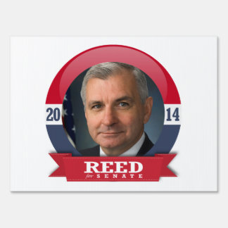 JACK REED CAMPAIGN LAWN SIGNS