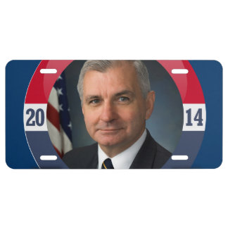 JACK REED CAMPAIGN LICENSE PLATE
