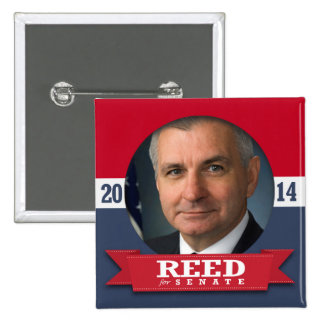 JACK REED CAMPAIGN PINBACK BUTTON