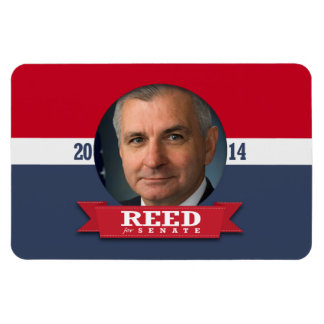 JACK REED CAMPAIGN RECTANGLE MAGNETS