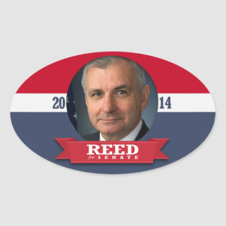 JACK REED CAMPAIGN STICKERS