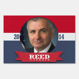 JACK REED CAMPAIGN YARD SIGNS