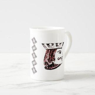 Jack rojo taza de porcelana