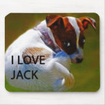 Jack Rusell Puppy Mouse Pad