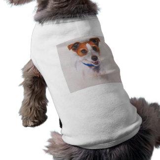 Jack Rusell Terrier Painted in Watercolour Doggie Tee