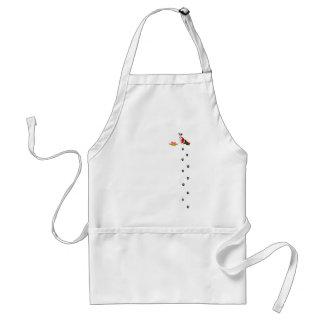 jack russel adult apron