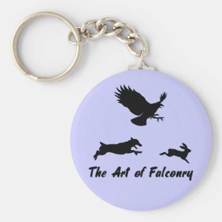 Jack Russel and Falconry Key Chains