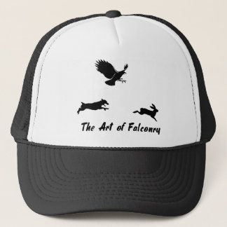 Jack Russel and Falconry Trucker Hat