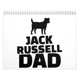 Jack Russel Dad Calendar