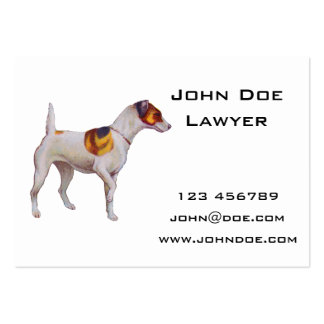 Jack Russel Large Business Card