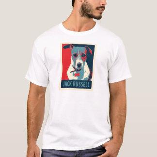 Jack Russel Terrier Political Parody Poster T-Shirt