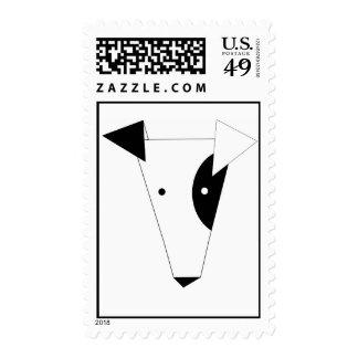 jack russel terrier postage stamp