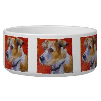 Jack Russel Terrior Dog Bowl