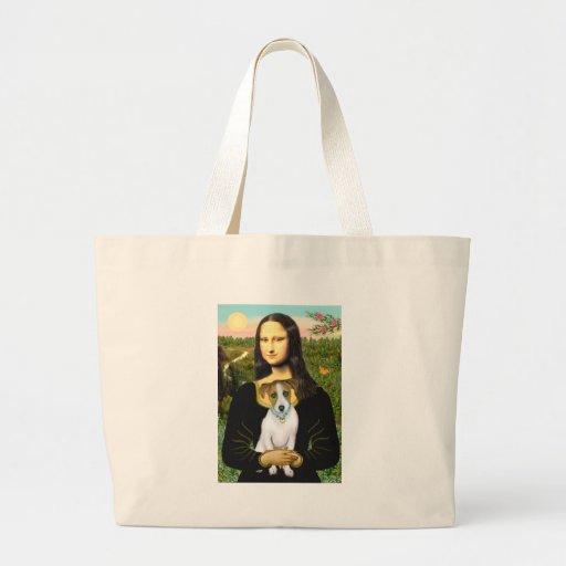Jack Russell 10 - Mona Lisa Bolsa De Mano