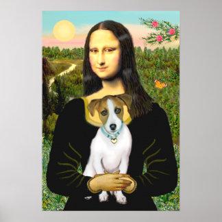 Jack Russell 10 - Mona Lisa Impresiones