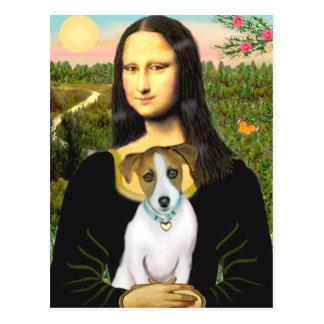 Jack Russell 10 - Mona Lisa Postal