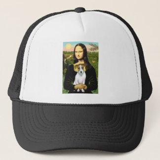 Jack Russell 10 - Mona Lisa Trucker Hat