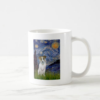 Jack Russell 10 - Starry Night Coffee Mug