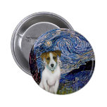 Jack Russell 10 - Starry Night Pin