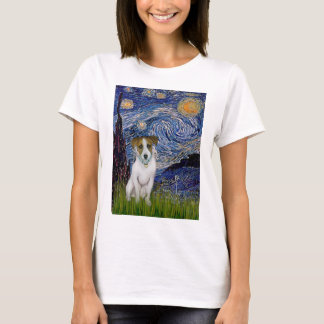 Jack Russell 10 - Starry Night T-Shirt