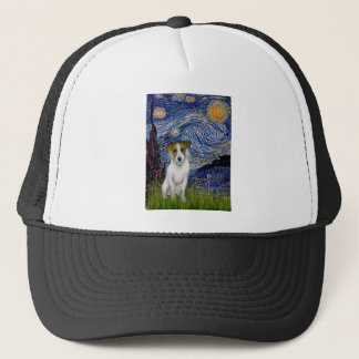 Jack Russell 10 - Starry Night Trucker Hat