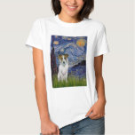 Jack Russell 10 - Starry Night Tshirt