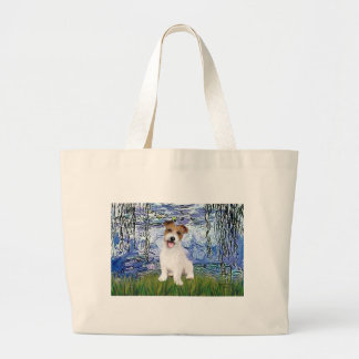 Jack Russell 11 - Lilies 6 Canvas Bag