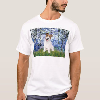Jack Russell 11 - Lilies 6 T-Shirt