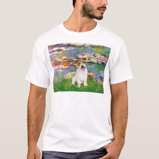 Jack Russell 11 - Llilies 2 T-Shirt