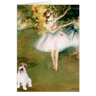 Jack Russell 11 - Two Dancers Greeting Card