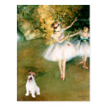 Jack Russell 11 - Two Dancers Post Card