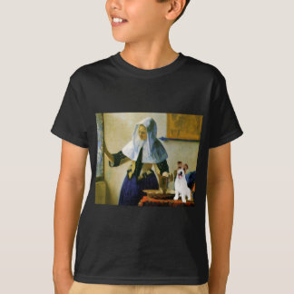 Jack Russell 11 - Woman with Pitcher T-Shirt