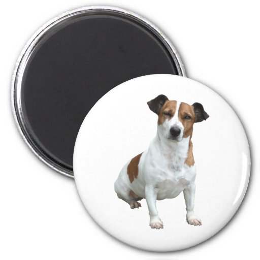 Jack Russell 2 Inch Round Magnet