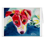Jack Russell #4 Greeting Card