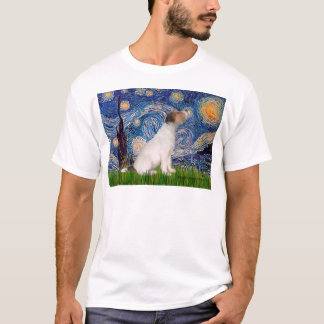 Jack Russell 5 - Starry Night T-Shirt