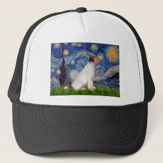 Jack Russell 5 - Starry Night Trucker Hat