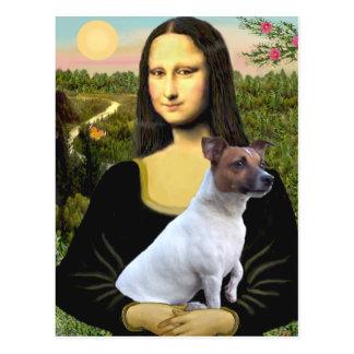 Jack Russell 6 - Mona Lisa Postcard