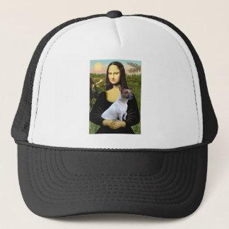 Jack Russell 6 - Mona Lisa Trucker Hat