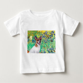 Jack Russell 8 - Irises Baby T-Shirt