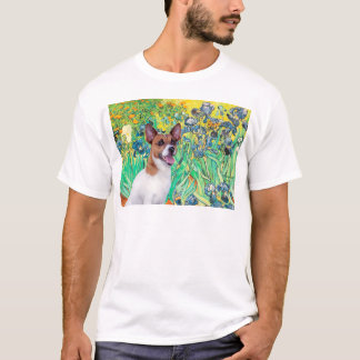 Jack Russell 8 - Irises T-Shirt