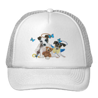 Jack Russell Angel t-shirts Trucker Hat