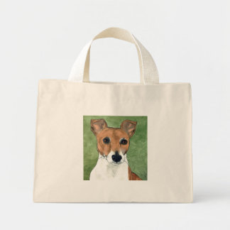 Jack Russell at your service Mini Tote Bag